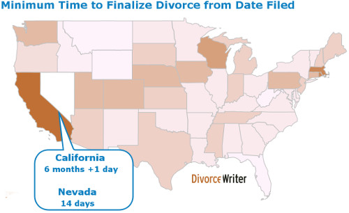 Minimum Time to Finalize Divorce from Filing Date